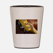 Guitar Headstock Shot Glass