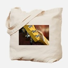 Guitar Headstock Tote Bag