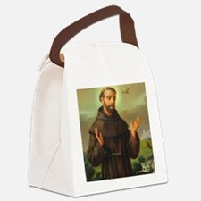 St. Francis of Assisi Canvas Lunch Bag