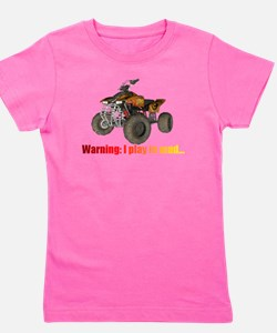 Unique Road biking Girl's Tee