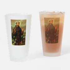 St. Francis of Assisi Drinking Glass