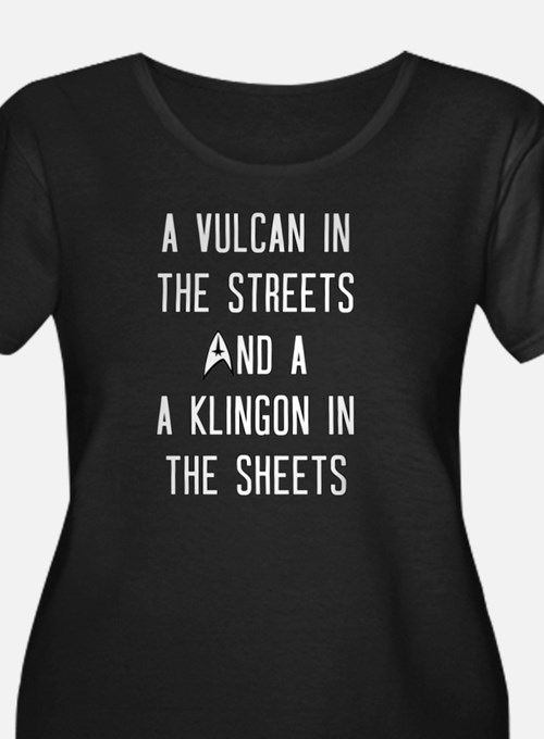 A Vulcan in the Streets A Klingon in the Sheets St