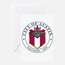 City Of Austin Seal Greeting Cards