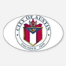 City Of Austin Seal Decal