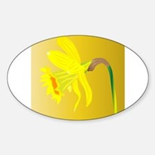 Welsh Daffodil For Saint Davids Day Decal