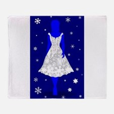 Snow Queen Throw Blanket