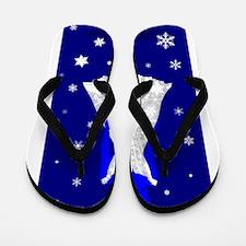 Snow Queen Flip Flops