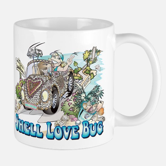 Shell Love Bug Mugs