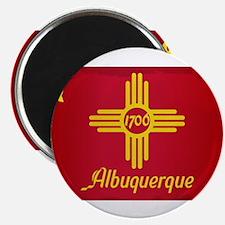 Albuquerque City Flag Magnets