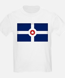 Indianapolis City Flag T-Shirt