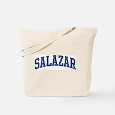 SALAZAR design (blue) Tote Bag