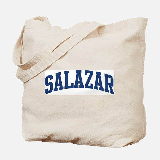 SALAZAR design (blue) Tote Bag