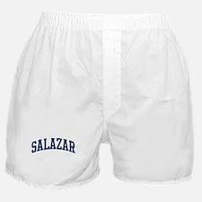 SALAZAR design (blue) Boxer Shorts