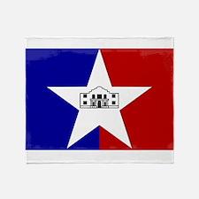 San Antonio City Flag Throw Blanket