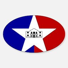 San Antonio City Flag Decal