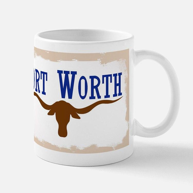 Flag of Fort Worth Mugs