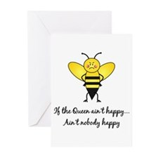 If The Queen Ain't Happy Greeting Cards (Pk of 10)
