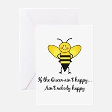 If The Queen Ain't Happy Greeting Card