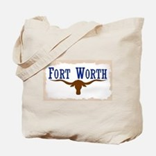 Flag of Fort Worth Tote Bag