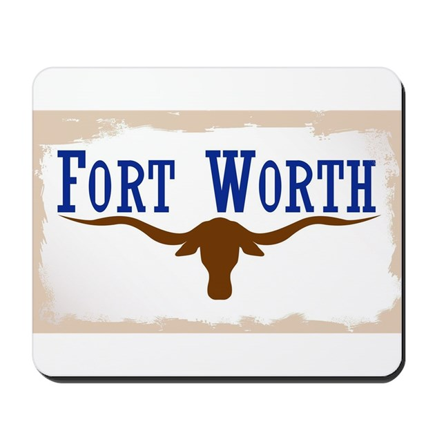 Flag Of Fort Worth Mousepad By Admin Cp133759785