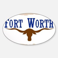 Flag of Fort Worth Decal