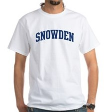 SNOWDEN design (blue) Shirt