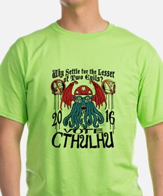 Lesser of Two Evils Cthulhu T-Shirt