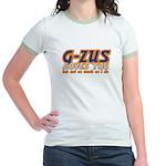G-ZUS LOVES  YOU Jr. Ringer T-Shirt