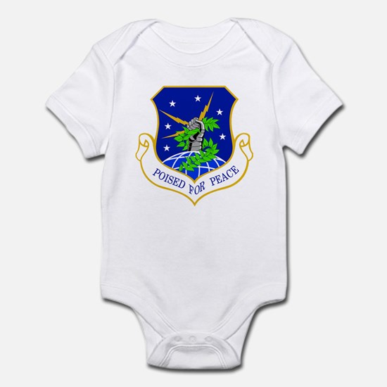 91st Missile Wing Crest Infant Bodysuit