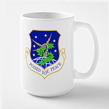 91st Missile Wing Crest MugMugs
