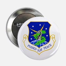 """91st Missile Wing Crest 2.25"""" Button"""