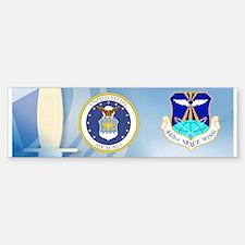 460th Space Wing Crest Bumper Bumper Sticker