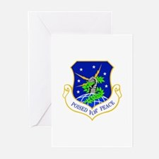 91st Missile Wing Crest Greeting Cards (Pk of 10)