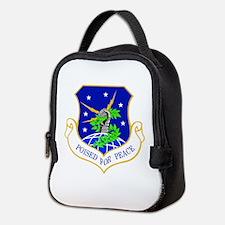 91st Missile Wing Crest Neoprene Lunch Bag