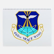 460th Space Wing Crest Wall Calendar
