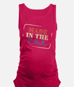 Unique 4th of july Maternity Tank Top