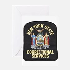 New York Corrections Greeting Cards
