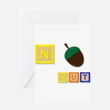 N Is For Nut Greeting Cards