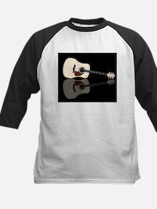 Pale Acoustic Guitar Reflection Baseball Jersey