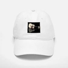 Pale Acoustic Guitar Reflection Baseball Baseball Cap