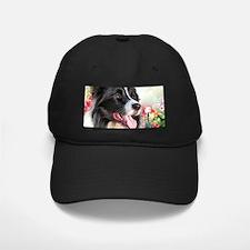Border Collie Painting Baseball Hat