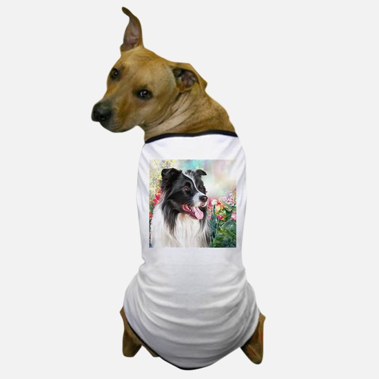 Border Collie Painting Dog T-Shirt