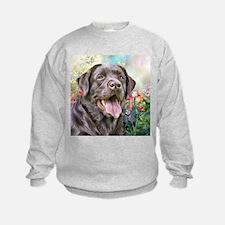 Labrador Painting Sweatshirt