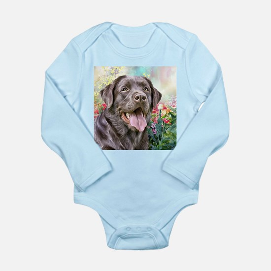 Labrador Painting Body Suit