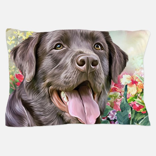 Labrador Painting Pillow Case