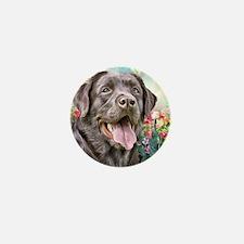 Labrador Painting Mini Button