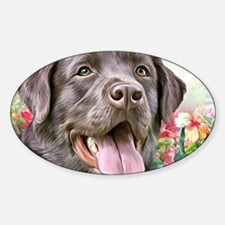 Labrador Painting Decal