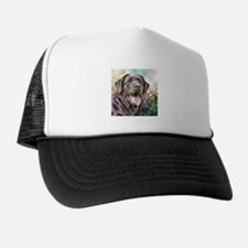 Labrador Painting Trucker Hat