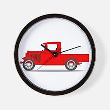 Early Pickup Truck Wall Clock