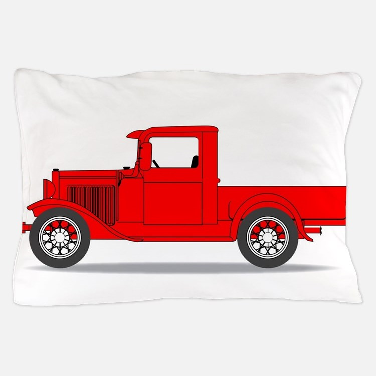 Early Pickup Truck Pillow Case